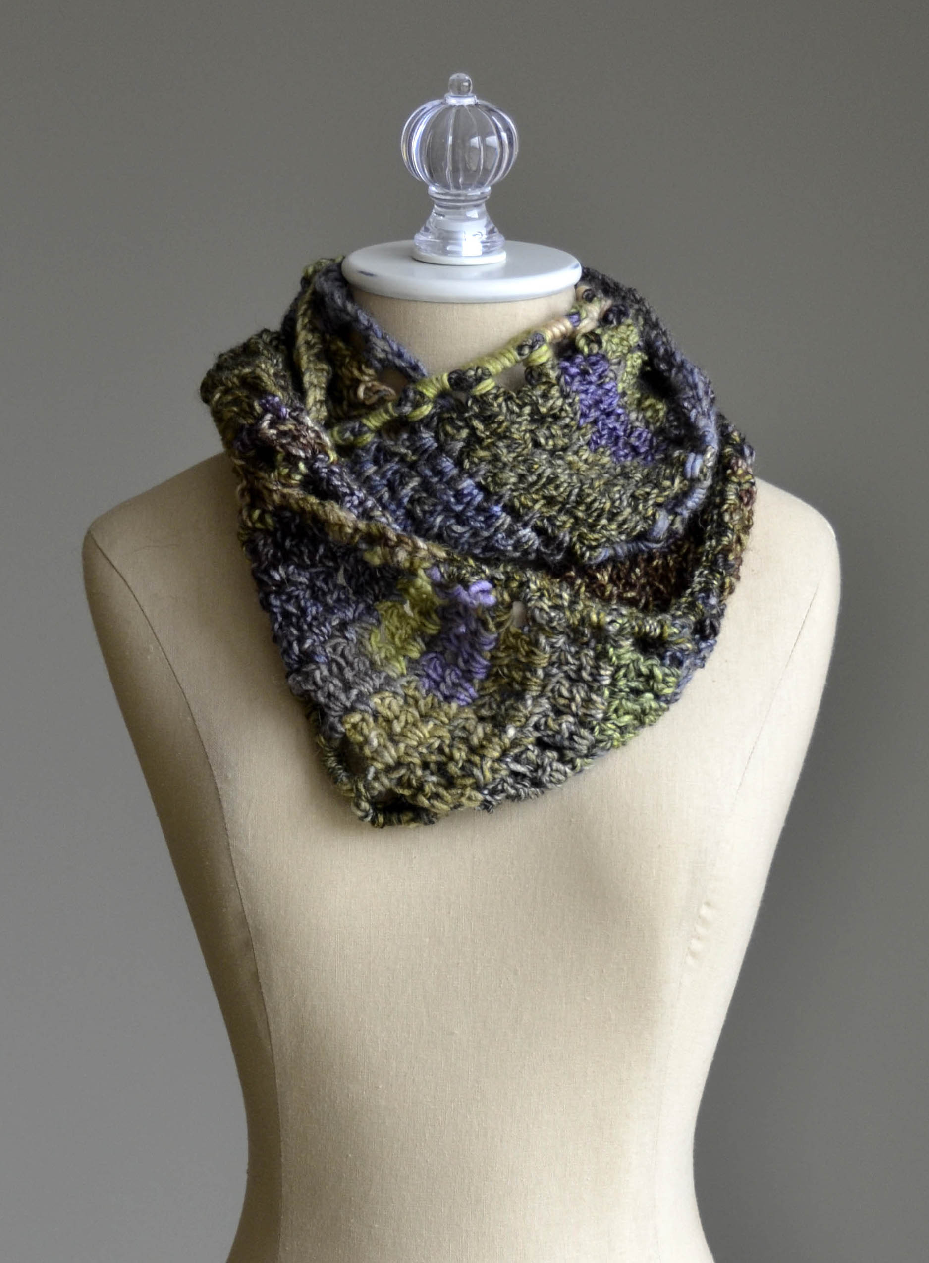 Rambling Cowl in Classic Shades Frenzy