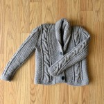 Lil Grandpa cardigan_blog