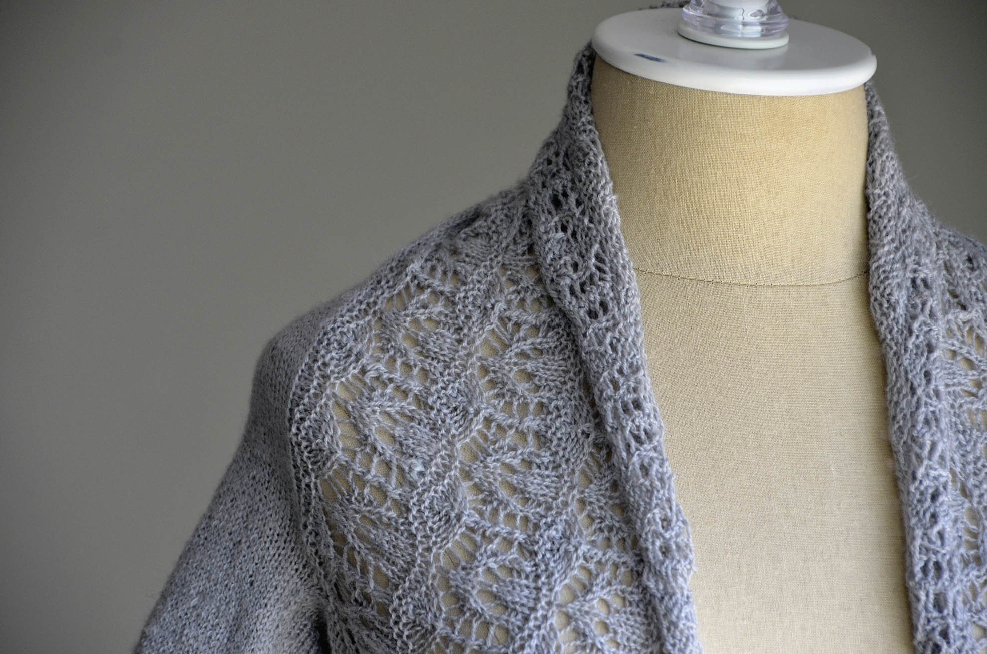 Free Knitting Patterns For Lace Bolero : whisper lace Universal Yarn Creative Network