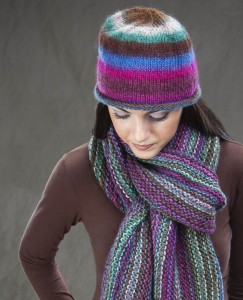 Bohemian hat and scarf partial