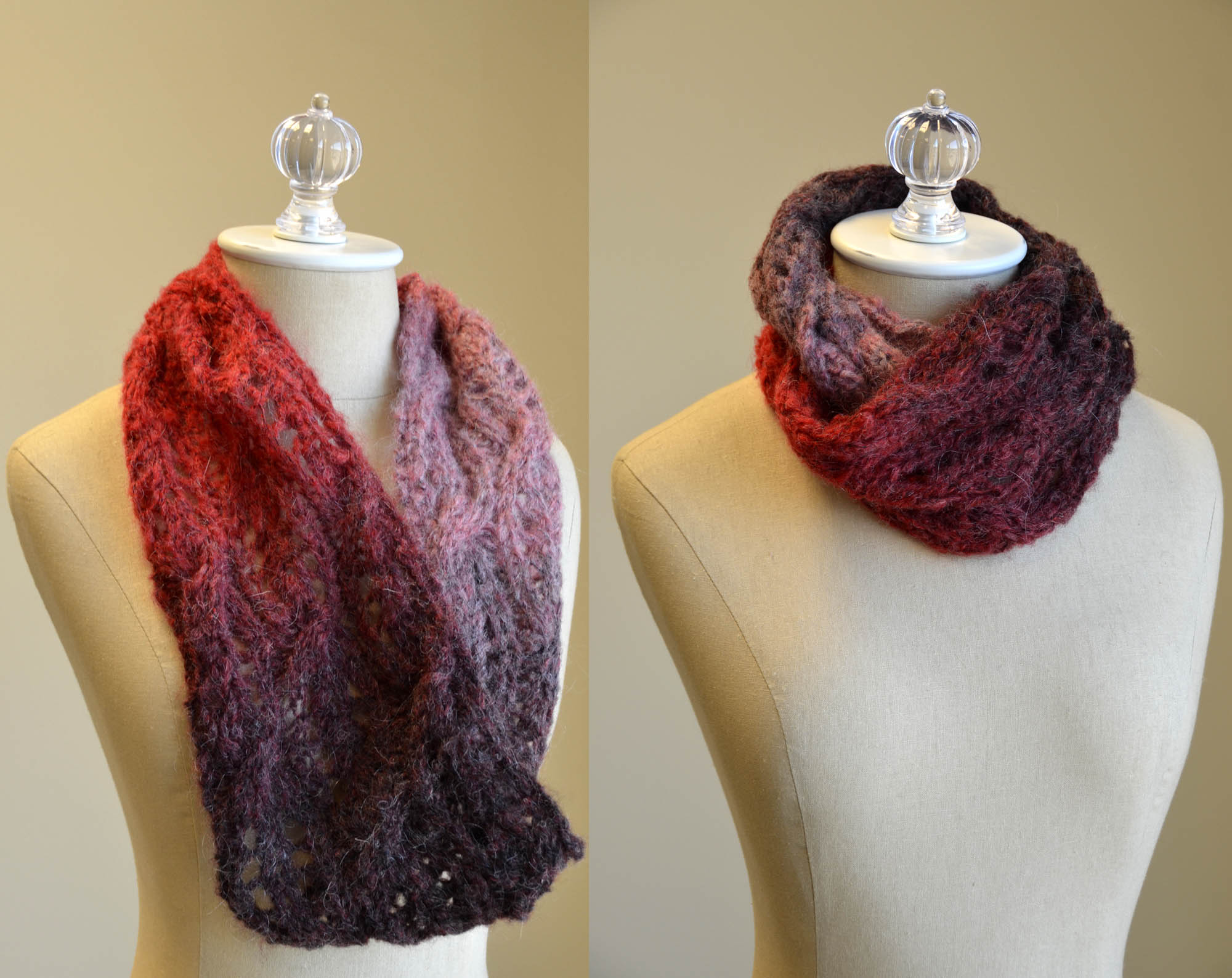 Quick Cowls Ethereal Lace Cowl Mohair Mountain_Facebook