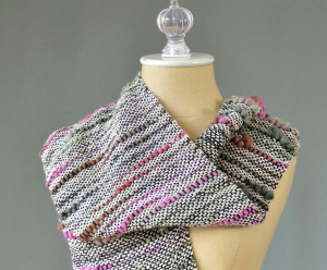 Bamboo Bloom woven scarf 2049 blog