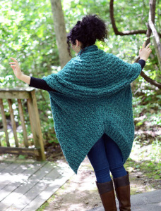 Insulate Cardigan back blog