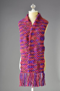 Jubilation Fringed Scarf long B blog