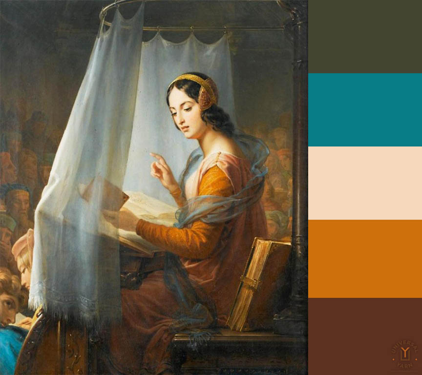 marie-eleonore-godefroid1778-1849 with palette_B