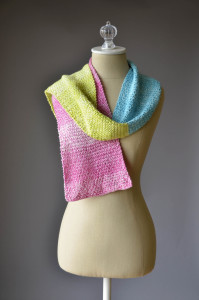 Three Color Scarf A 1 blog