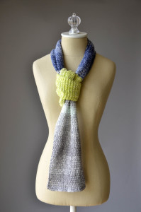 Three Color Scarf B 3 blog