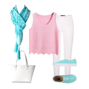 Seaspray Scarf outfit 1