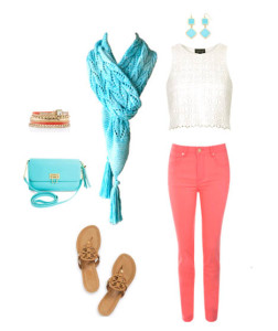 Seaspray Scarf outfit 2