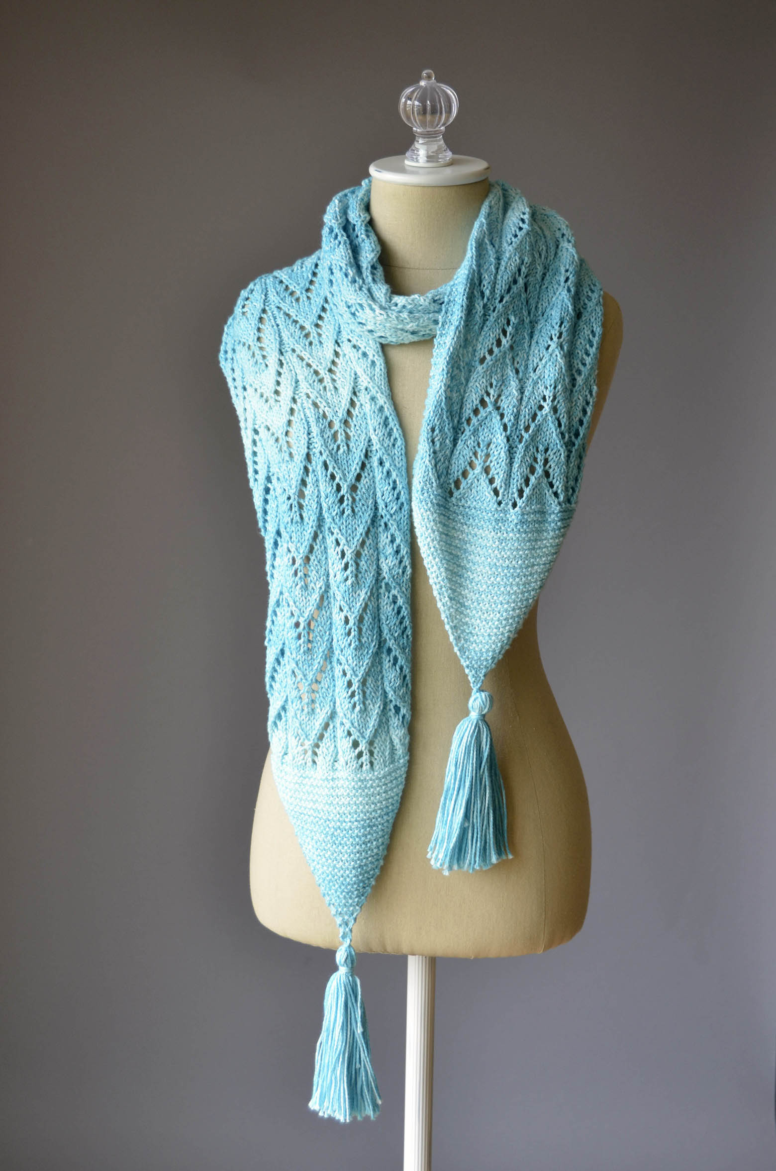 Seaspray Tassel Scarf 1 blog