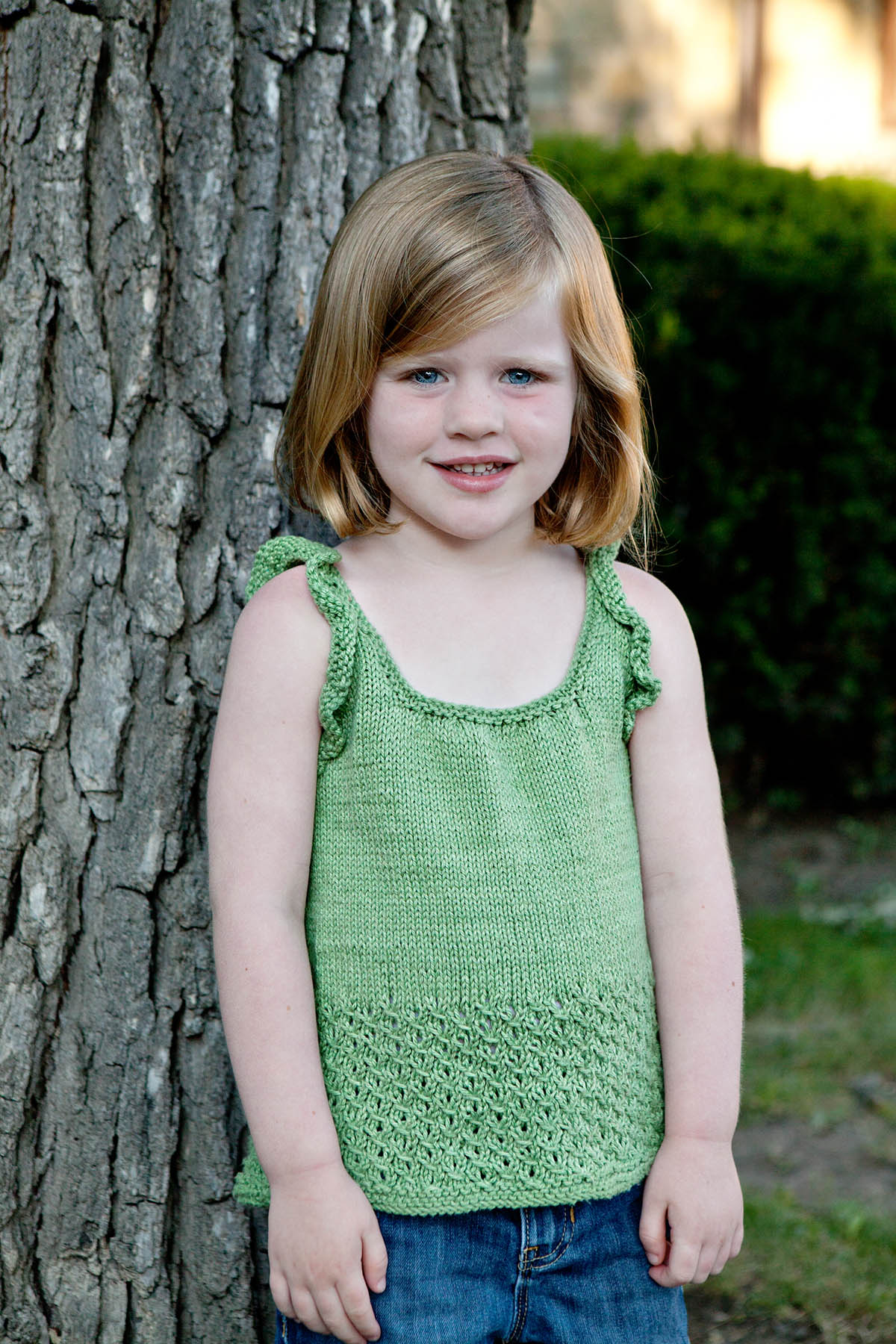 Free Pattern Friday   Sprout Tank Universal Yarn Creative Network