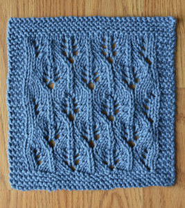 Blue washcloth blog