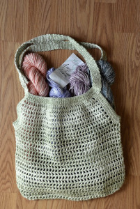 Good Earth Adorn Green Market Bag blog