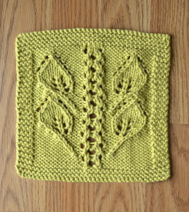 Mustard washcloth blog