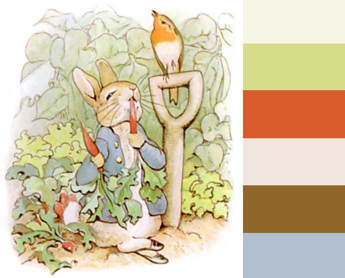 Peter Rabbit Colors