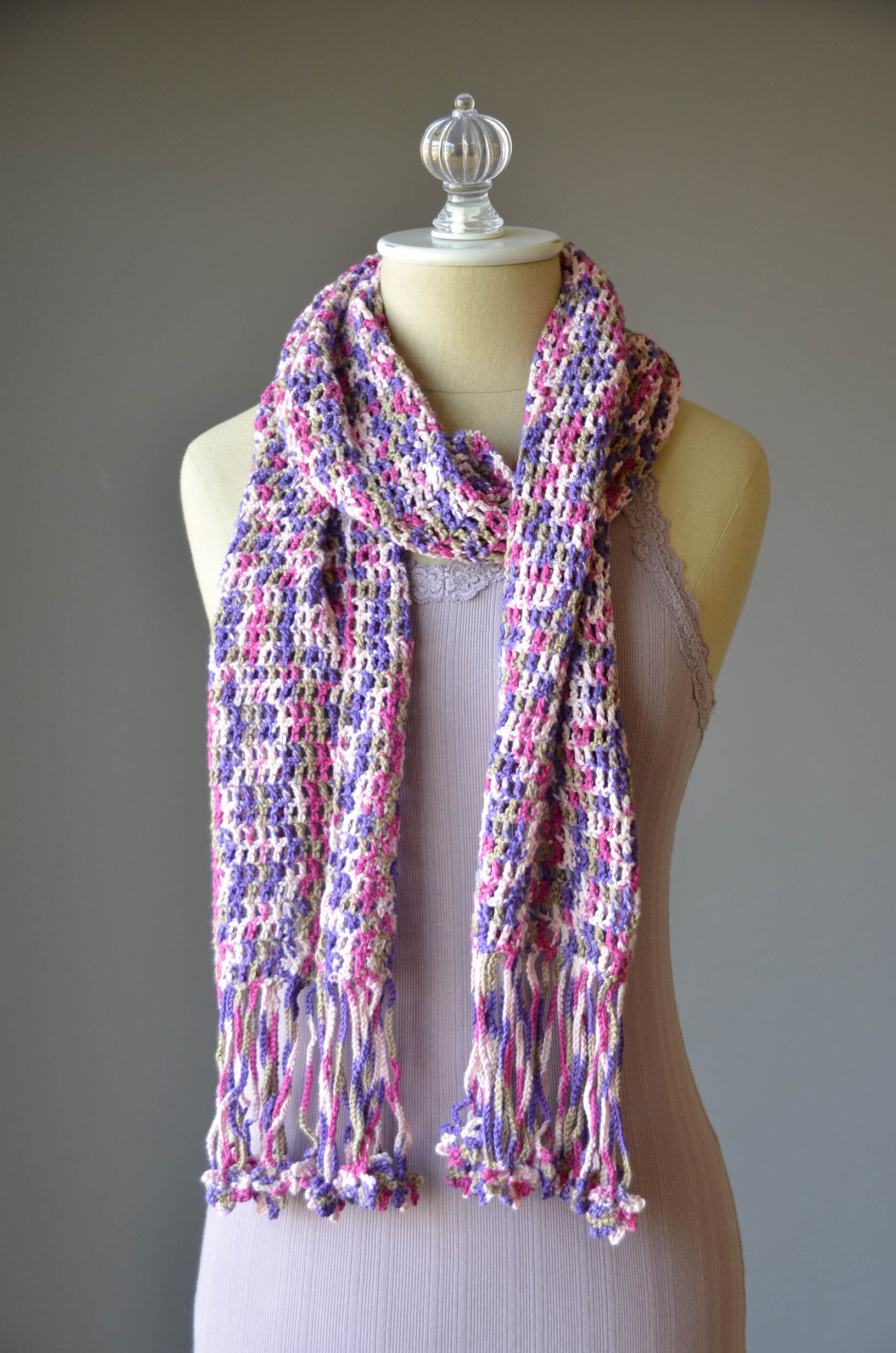 Free Pattern Friday   Fun Fringe Scarf Universal Yarn Creative Network
