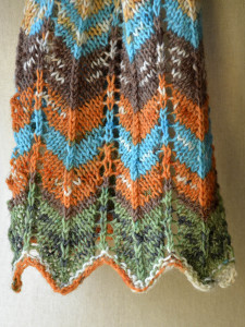 Chevron Scarf 5 detail blog