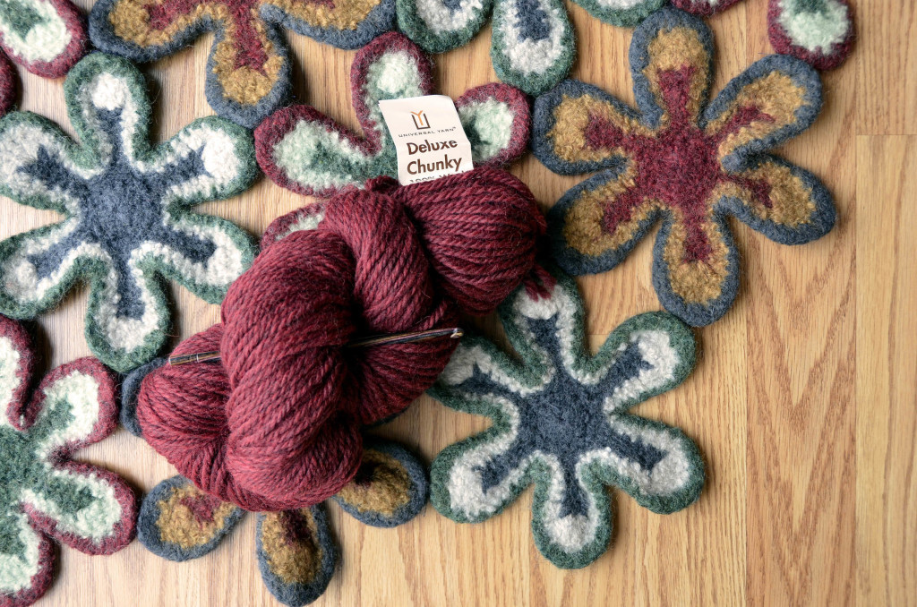Hearth Rug with skein 1_150