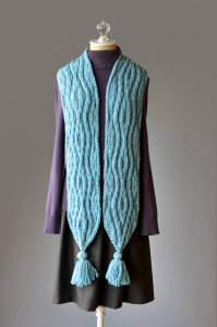 Deluxe Bulky Superwash Tassel Scarf blog