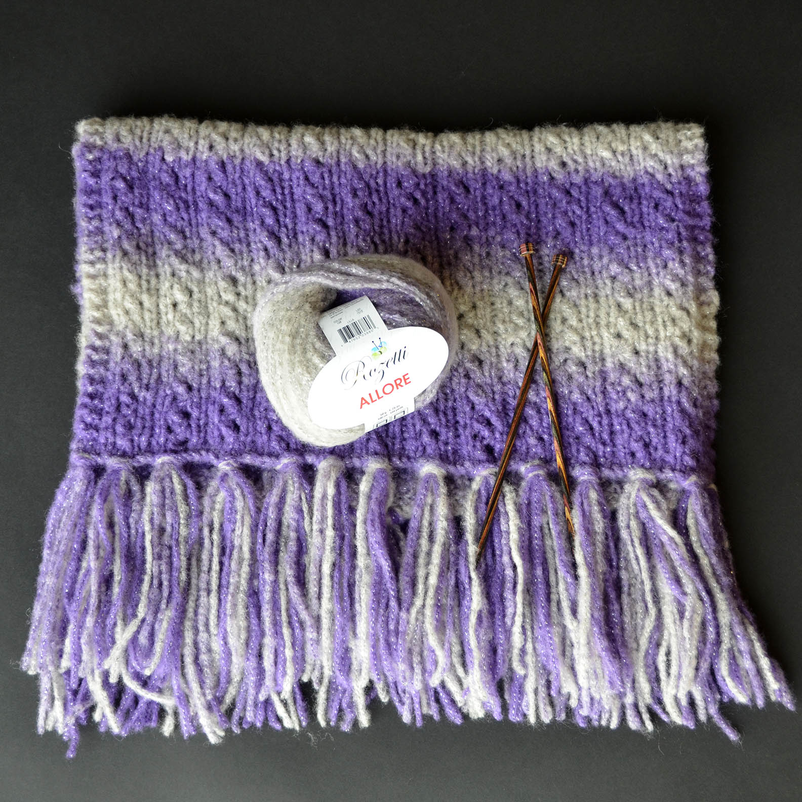 Warmth Wrap with yarn blog