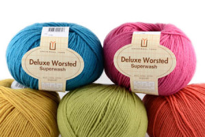 Deluxe Worsted Superwash five balls_cutout_web