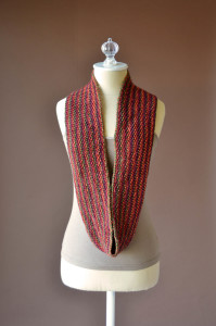 Uptown DK Colors Seed Stitch Cowl long blog