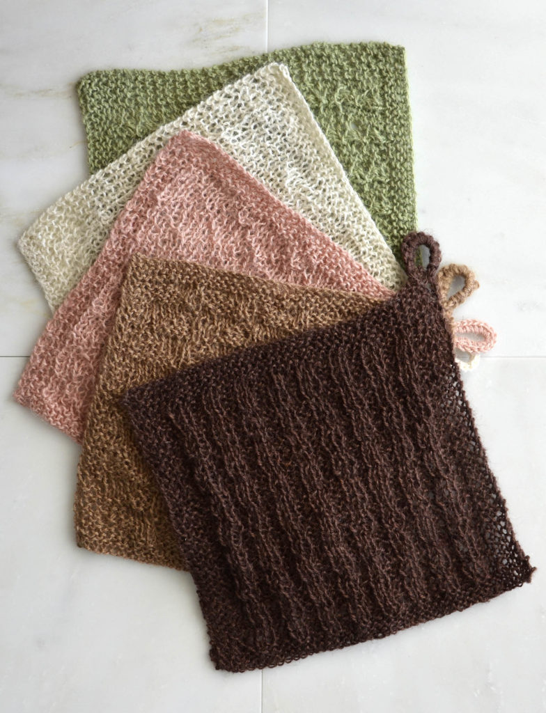 Java Washcloth Set social media