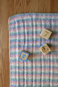 Striped Blanket detail hi-res