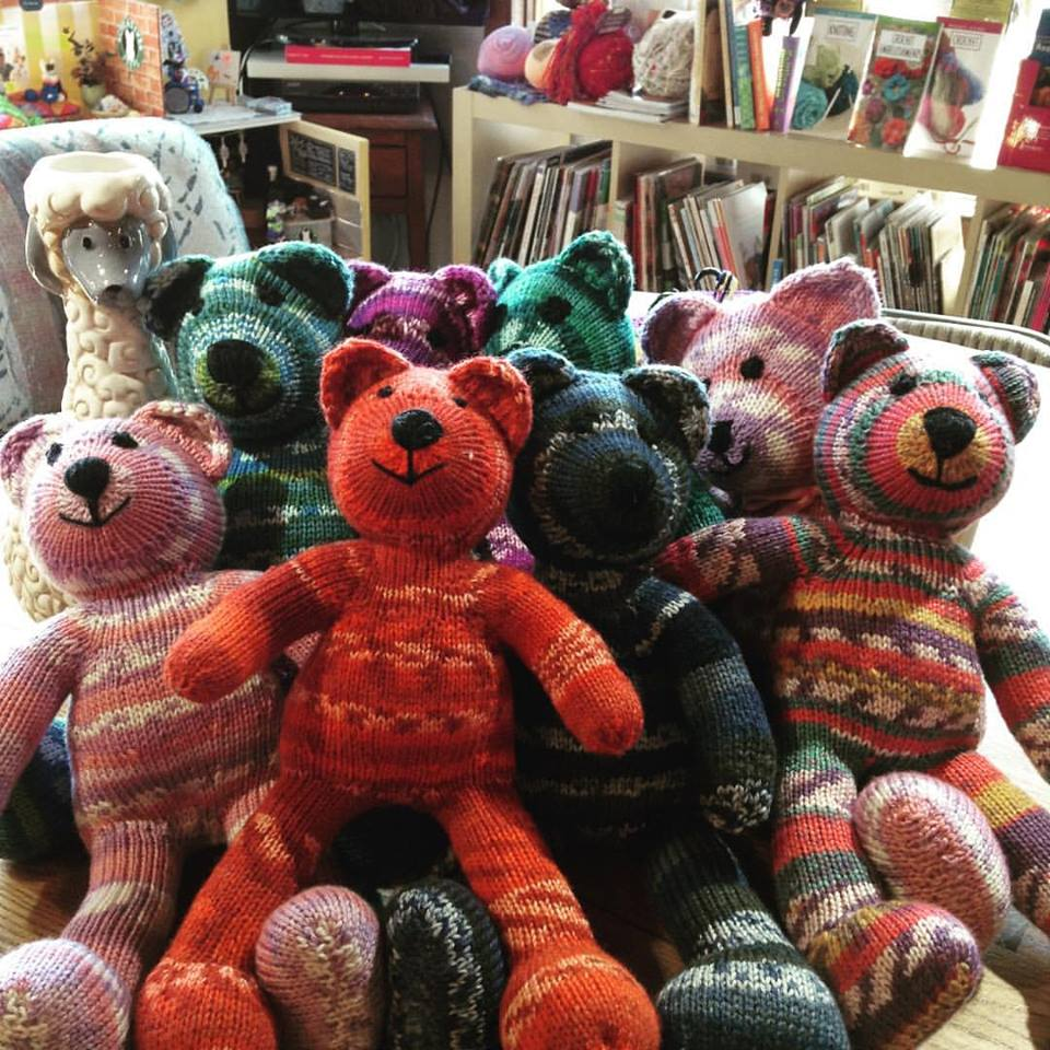 Yarn Cloud Petra Bietsch Blinky Bears by Joan