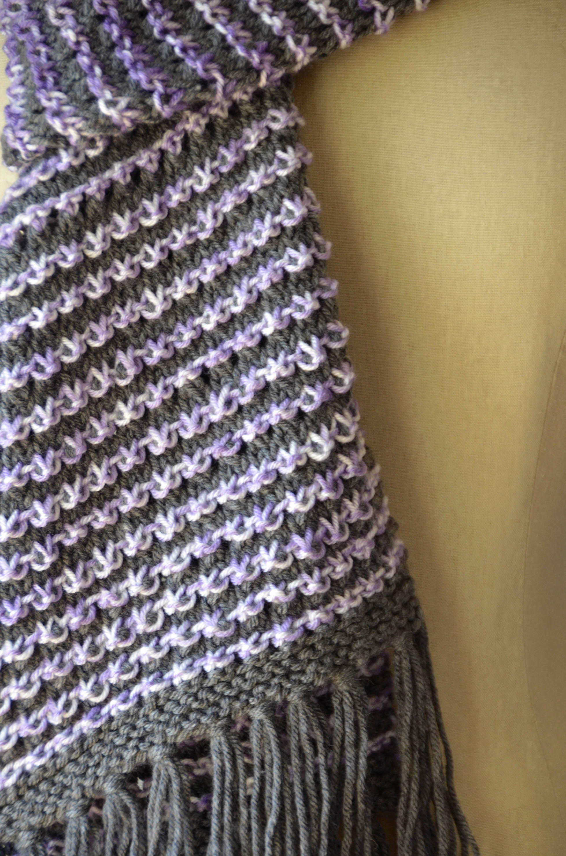 Free Pattern Friday Checked Hat And Scarf Universal