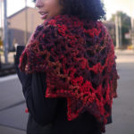 You'll want to keep the Kings Drive Shawl by the door so you can always have it handy when you go out.  So pretty!