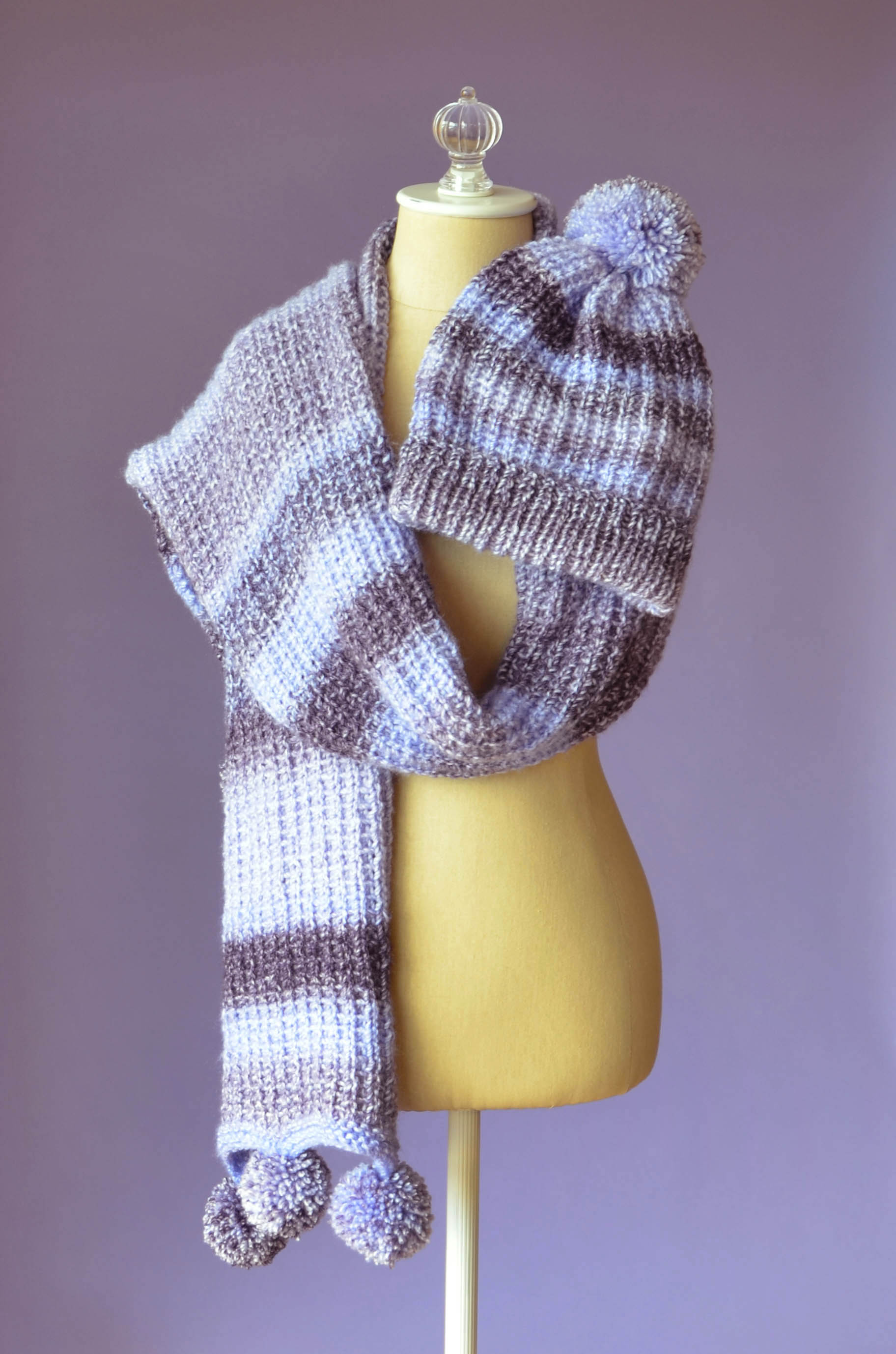 Free Pattern Friday – Pomtastic Hat and Scarf | Universal Yarn ...