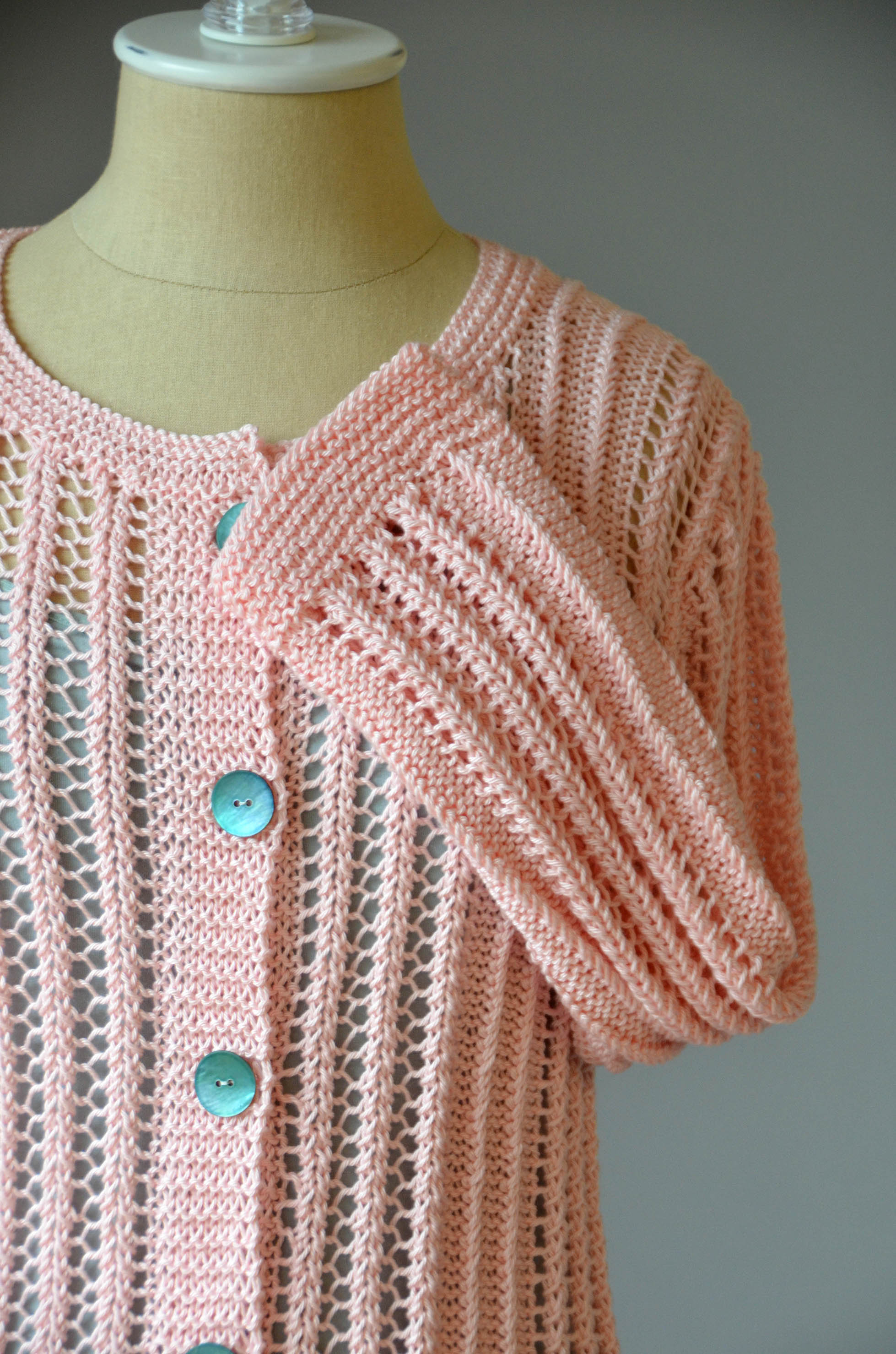 Cotton Cardigan Knitting Pattern : Free Pattern Friday Universal Yarn Creative Network
