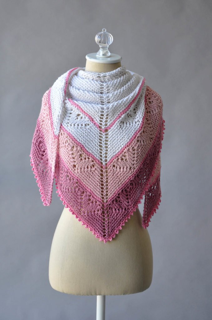 f211b6306 What better way to prepare than by knitting yourself (or someone else who  is sweet) a shawl  We ve got you covered – to celebrate Valentine s Day